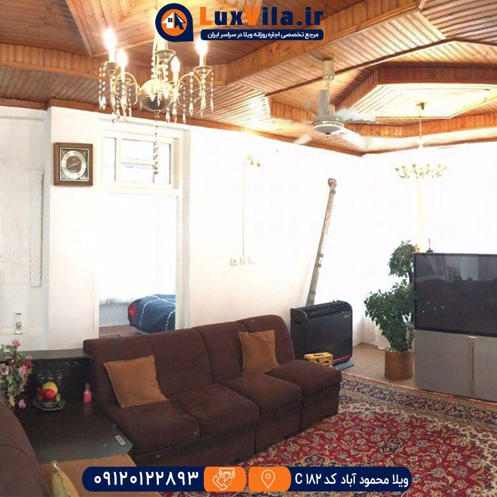 اجاره ویلا محمود آباد کد C182