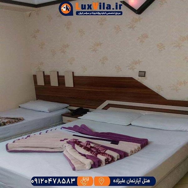 هتل آپارتمان علیزاده مشهد