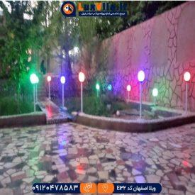 اجاره ویلا اصفهان کد E132
