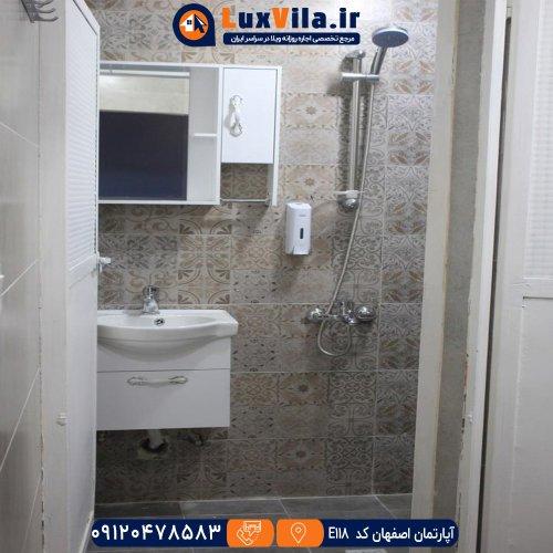 اجاره آپارتمان اصفهان کد E118