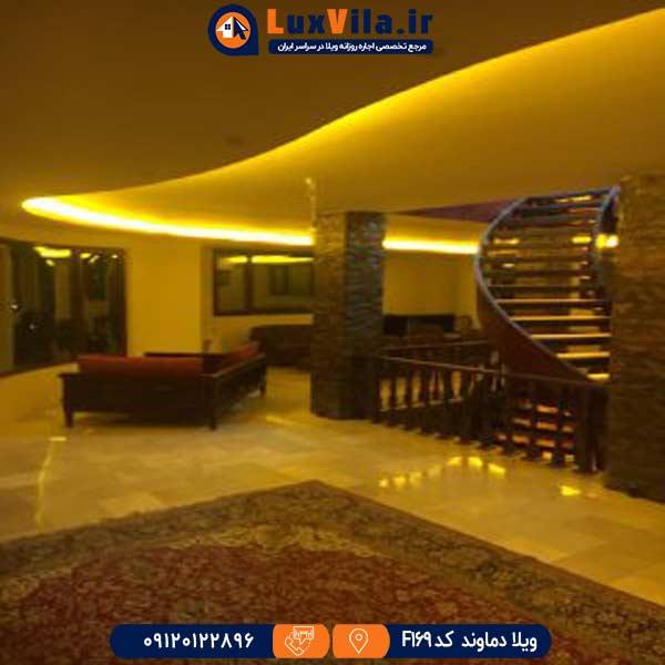 ویلا باغ دنج حوالی چشمه آینه ورزان F169