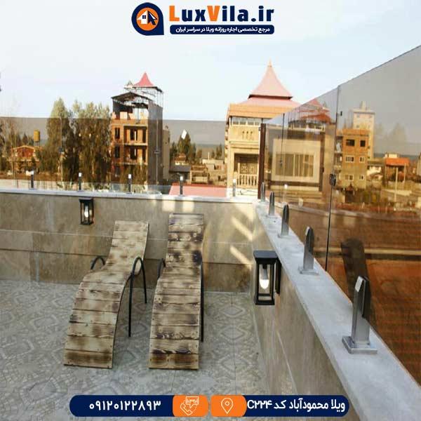 ویلا لوکس در محمود آباد C224