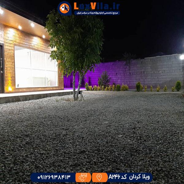 ویلا با استخر روباز در کردان A246