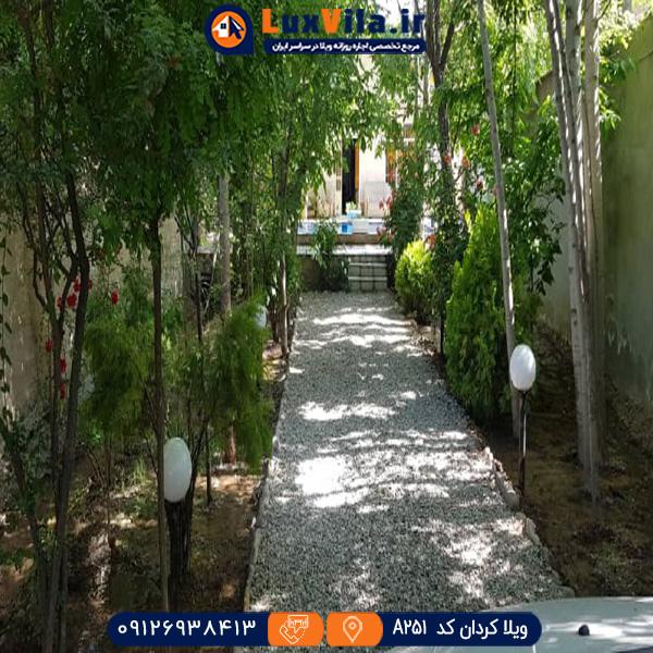 ویلا استخر روباز در کردان A251