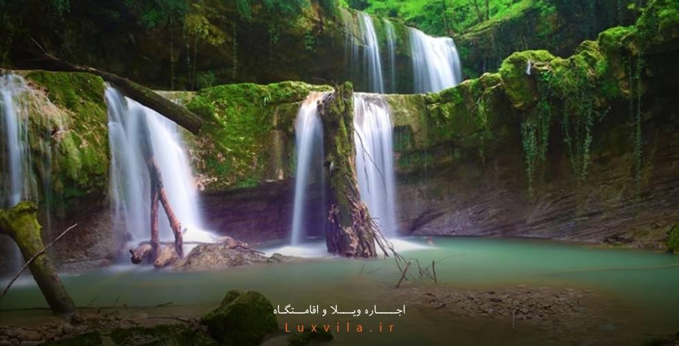 هفت آبشار تیرکن سوادکوه