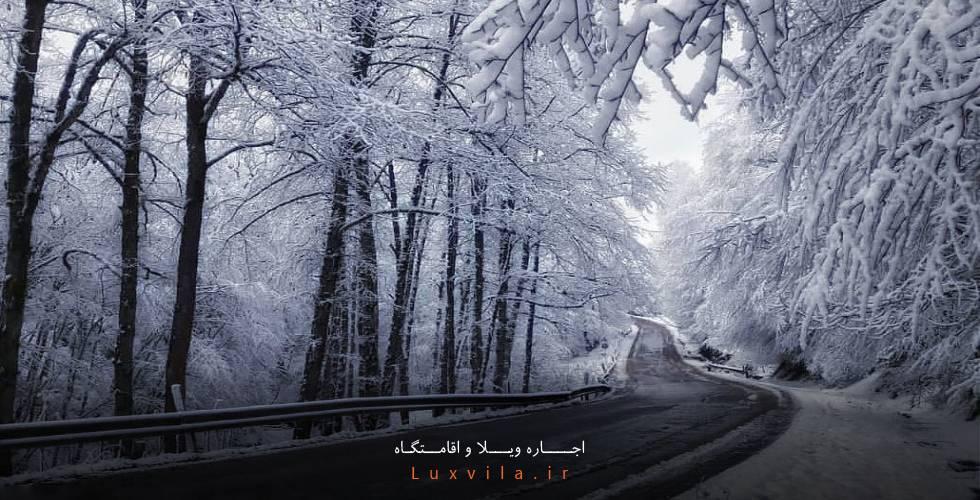 جاده عباس آباد کلاردشت