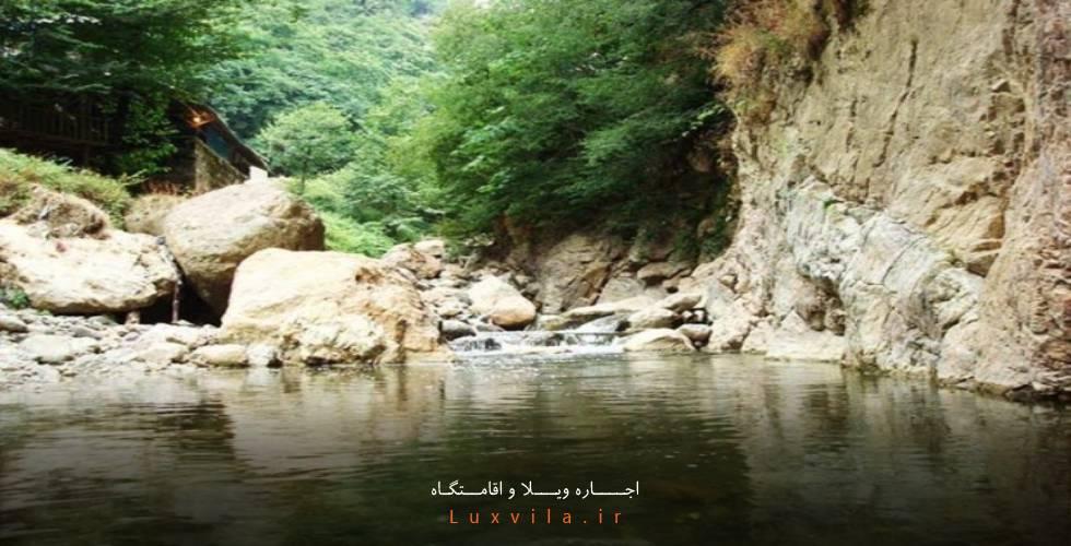 آبشار لار محله