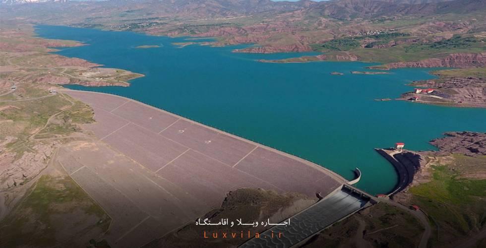 سد و دریاچه زیبای طالقان