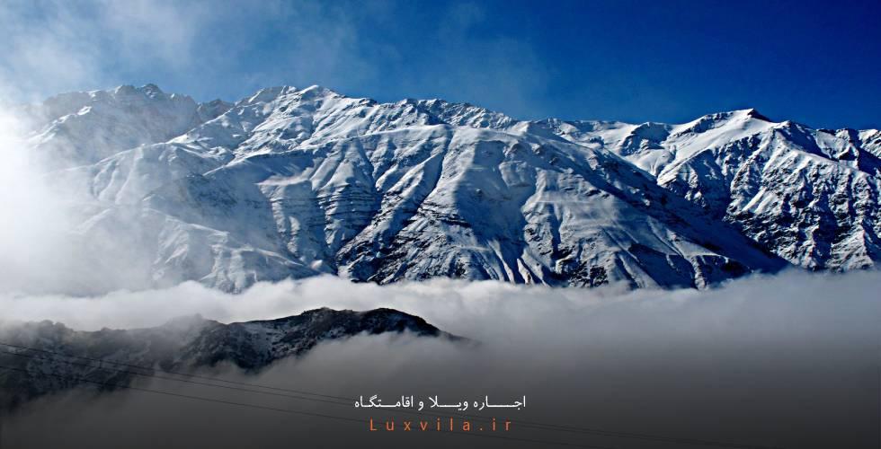 کوه های اطراف طالقان