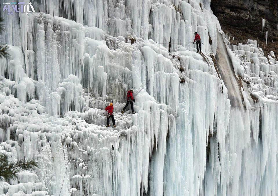 آبشار یخی آبنیک فشم
